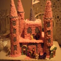 Castle Cake i stole this idea from someone on this site (can't remember the name off hand) Nice idea, but a lot of work. i was so tired, i didn&#...