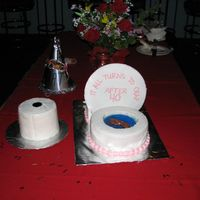 "Toilet Cake  My version of a toilet cake. Thanks to everyone that has posted pics of toilet cakes, for the inspiration!! The ""water"" is jello..."