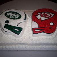 Grooms Cake Grooms Team VS. Brides Team!!!!!
