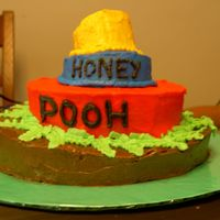 Winnie The Pooh Whimsical This is the smash cake I made for my nephew. My sister purchased a winnie the pooh cake from a grocery store bakery but I wanted to do HIS...