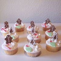 Gingerbread Cuppies