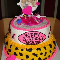 Cheetah Girls Cake