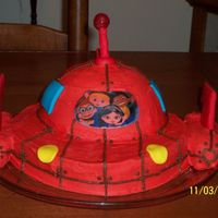 Little Einsteins Rocket Ship Cake This was for my daughter's fourth birthday party. It was easier to make than I had originally thought. For me, it came out perfect,...