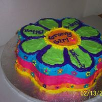 Groovy Girls Cake Another View