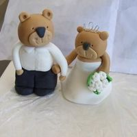 Teddy Bride And Groom   took about 3 hours and 4 attempts but i like it