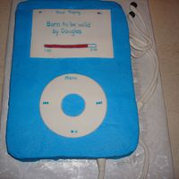 Ipod Cake   Buttercream and fondant iPod birthday cake.