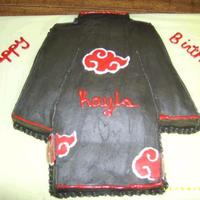 Akatsuki Cloak made for niece who loves anime