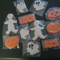 Halloween Cookies MMF makes a cool mummy