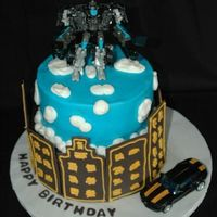 Transformer Cake   Made this for my nephew's bday. I got some of the ideas from this site. Thanks!