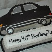 Mercedes   Made this cake to match a friend's Mercedes. Buttercream with somefondant accents.