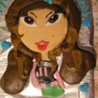Bratz Birthday  The cake was made like a puzzle. It was lots of fun to make. I came across this cake from a cake artist in the United Kingdom. I was really...