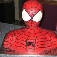 "3-D Spiderman Thank you Lisa for your wonderful tutorial. I used it as my ""bible""! I had a very hard time with the spider on the front. My..."