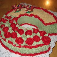 Run For The Roses Kentucky Derby 2008   This cake was inspired by this website! Thank you!