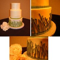 Lemon Grass Wedding Nightmare Cake 5-7-9 rounds. Penny pinched cake- Couldn't use SPS system had to dowel, won't ever do that again what trouble I...