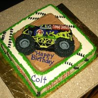 Grave Digger Made for a big Grave Digger fan.