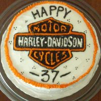 Hubby's Harley Birthday Cake I haven't made a cake in about a year... So, I thought Hubby deserved the first one I made since moving to Japan in the Fall... He...