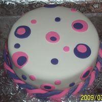 Birthday Cake  I decided this morning that I wanted to do a cake for tonight for my mother in law and her brother's birthday. So i threw this...
