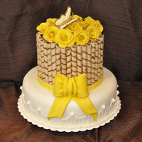 Yellow Roses I did this cake for a friends 60th birthday...she loves yellow roses...first time making them with fondant..they turned out better than I...