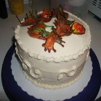 Fall Leaves Cake Bc