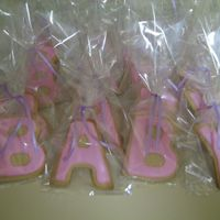 Baby Cookies BABY cookies for my sisters baby shower-she is having a girl. This was my first time making the NO fail sugar cookie recipe and royal icing...