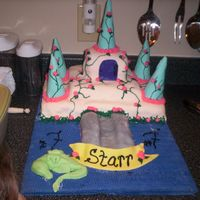 Starr's Castle Birthday Cake This is my first picture on the site and my first real cake. It was for my daughter's 7th birthday W sat together and went through...