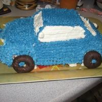 Blue Car   I made this one for my brother's birthday. All bc
