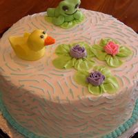 Baby Shower Lily Pad