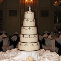 Weding Cake For Co-Worker Bride showed me a pic of what she wanted - I think it's a pretty popular design. Each tier had a layer each of champagne, chocolate,...