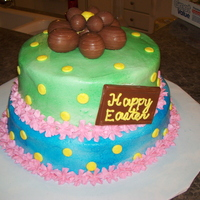 2 Tier Easter Cake