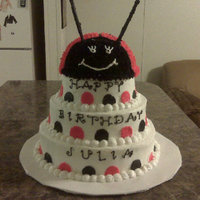 4 Tier Lady Bug Cake