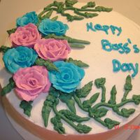 Boss's Day all buttercream