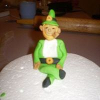 Leprechaun A part of a B-day I am doing. I need more practice. This is my first figure.