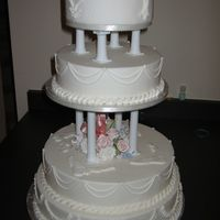4-Tier Wedding Cake