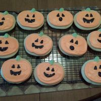 Jack-O-Lantern Cookies  Jack-o-lantern Cookies for my sons daycare halloween party. As always, best rolled sugar cookie recipe and Alices cookie icing...THE BEST...