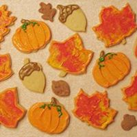 Fun Fall Cookies This was my first attempt at Autumn themed cookies. I am new to cake/cookie decorating, but am going to keep going and work my way up to...