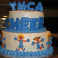 Cheerleading Made for my daughters cheer squad end of the season party at the YMCA her group age is 3-5 year olds