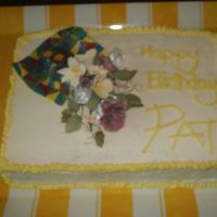 A Birthday Cake For Mother This cake was a lemon slab (Sheet), I used the Faux Fondant II recipe from this site, and I flavoured it with lemon. Everyone loved the...