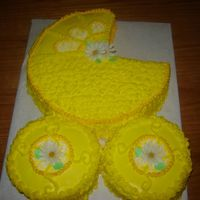 Baby Buggy Baby Buggy I made for my sisters baby shower.