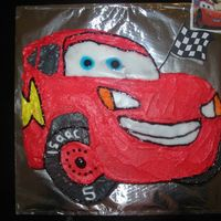 Lightning Mcqueen - First Try This was my first go at Lightning McQueen from CARS the movie. not bad........... maybe........ i thought.