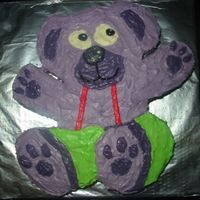 Teddy Bear Cake cake i made in Jun 06 for a function order.