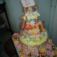A Gift For Upcoming Baby this cake is a gift to my friend for his upcoming baby..can't wait to see their beautiful baby