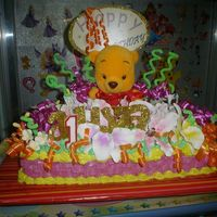 Pooh Cake my first 10x14...hope to do more....cheers