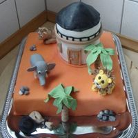 "People And Robbers In Cardamom Town This cake I made for my nephew and his classmates. Today they have produced the Norwegian play ""People and robbers in Cardamom Town&..."