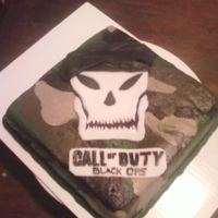 Call Of Duty Black Ops I made this for my nephew's birthday. A great big thank you to lweave1 for her help with this!