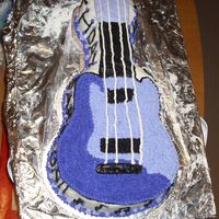 Guitar Cake I tried. What do you think??