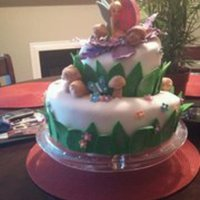 Tink Birthday cake for my niece......