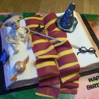 Harry Potter All accents gumpaste, hand molded.