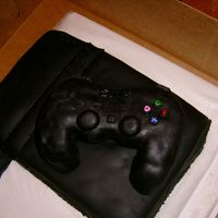Ps2 Cake This was my first attempt at using fondant. I personally hate the taste of all fondant, but I hate trying to get icing smooth even more! It...