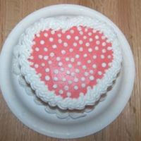 Mini Heart Valentine's Day Cake