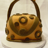 Purse Cake i made this cake for entry in our local town fair this weekend. it's a yellow cake with buttercream frosting, covered in fondant and...